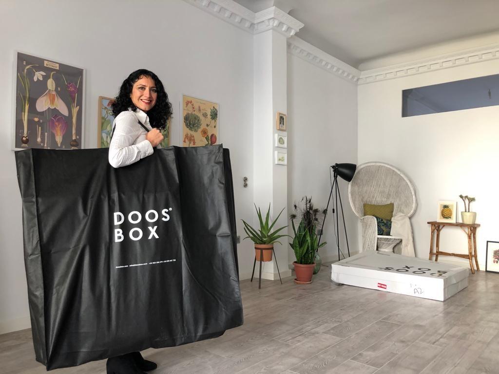 Silvia Canut, cofundadora de Doos Box