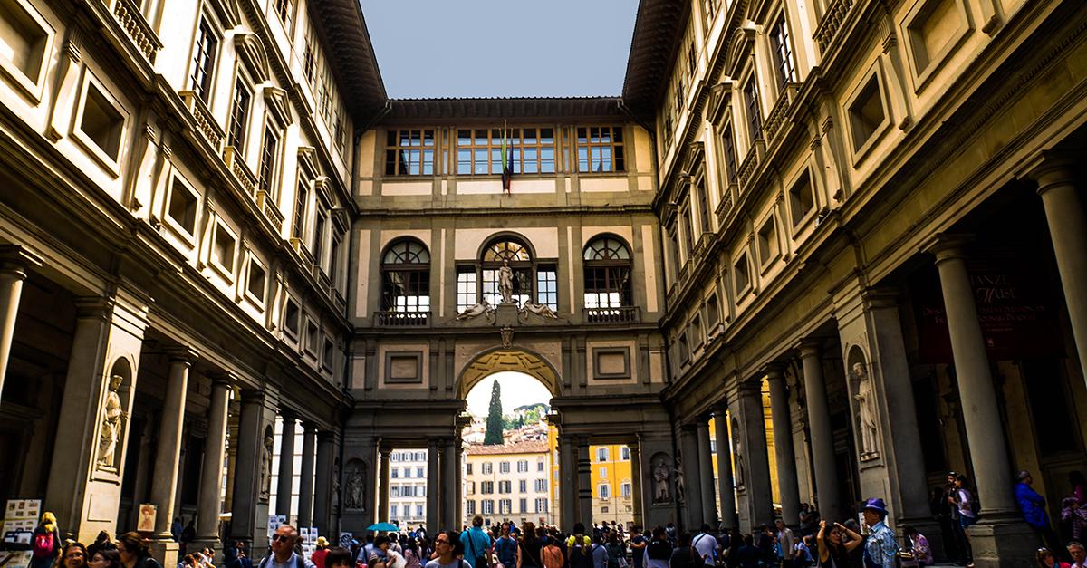 Galeria Uffizi, Florencia (Italia)