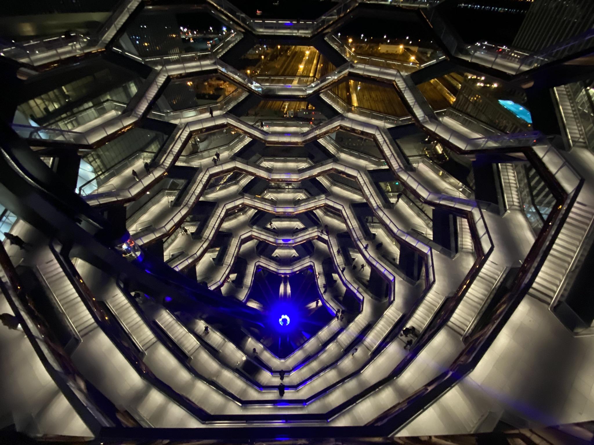 Interior del monumento Vessel