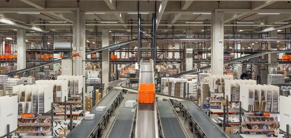 Almacén logístico de Zalando
