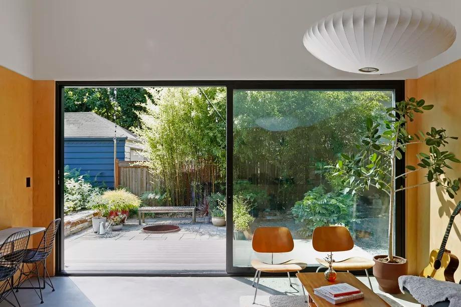 Luz y amplitud, claves de la casa