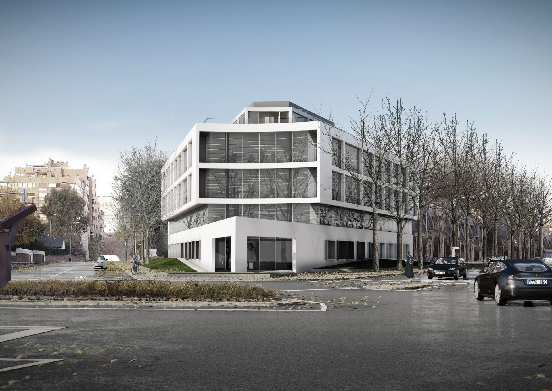 Activo de oficinas propiedad de Árima Real Estate en Madrid / Árima Real Estate.