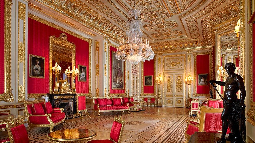 El dorado y el rojo, protagonistas de la decoración