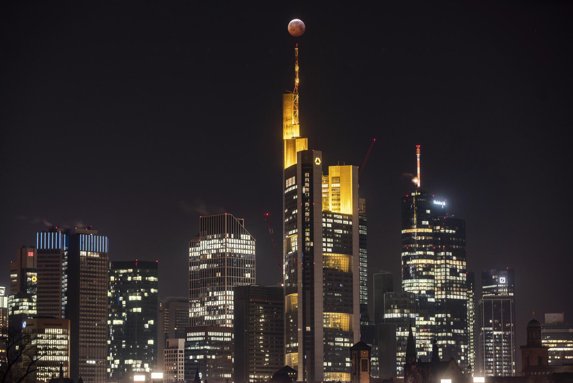 El skyline de Frankfurt, Alemania / Gtres
