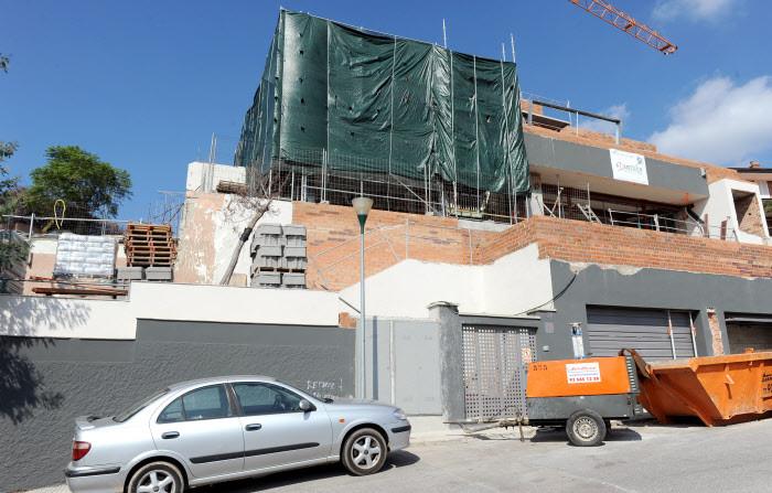 Imagen de una casa en construcción. / Gtres