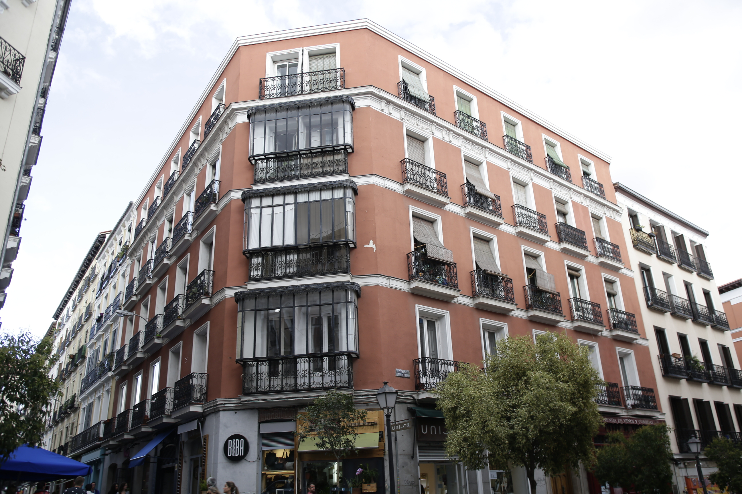 Viviendas en el barrio de Chueca (Madrid). / Gtres