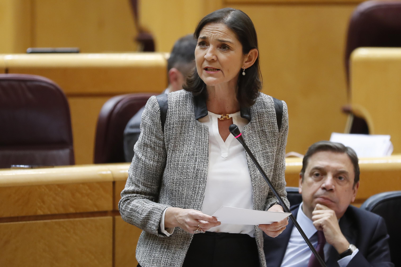 ministra de Industria, Comercio y Turismo, Reyes Maroto