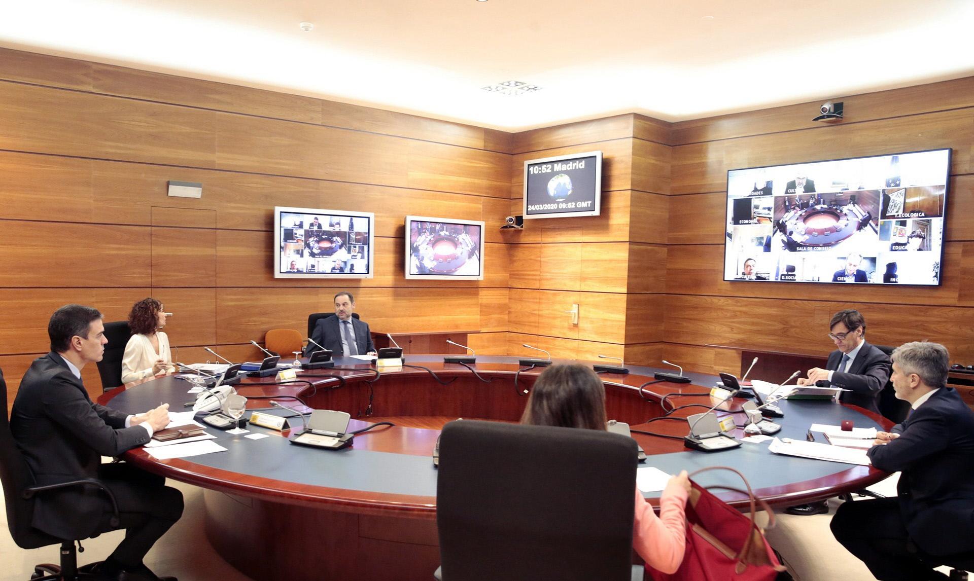 Reunión extraordinaria del Consejo de Ministros / Gtres