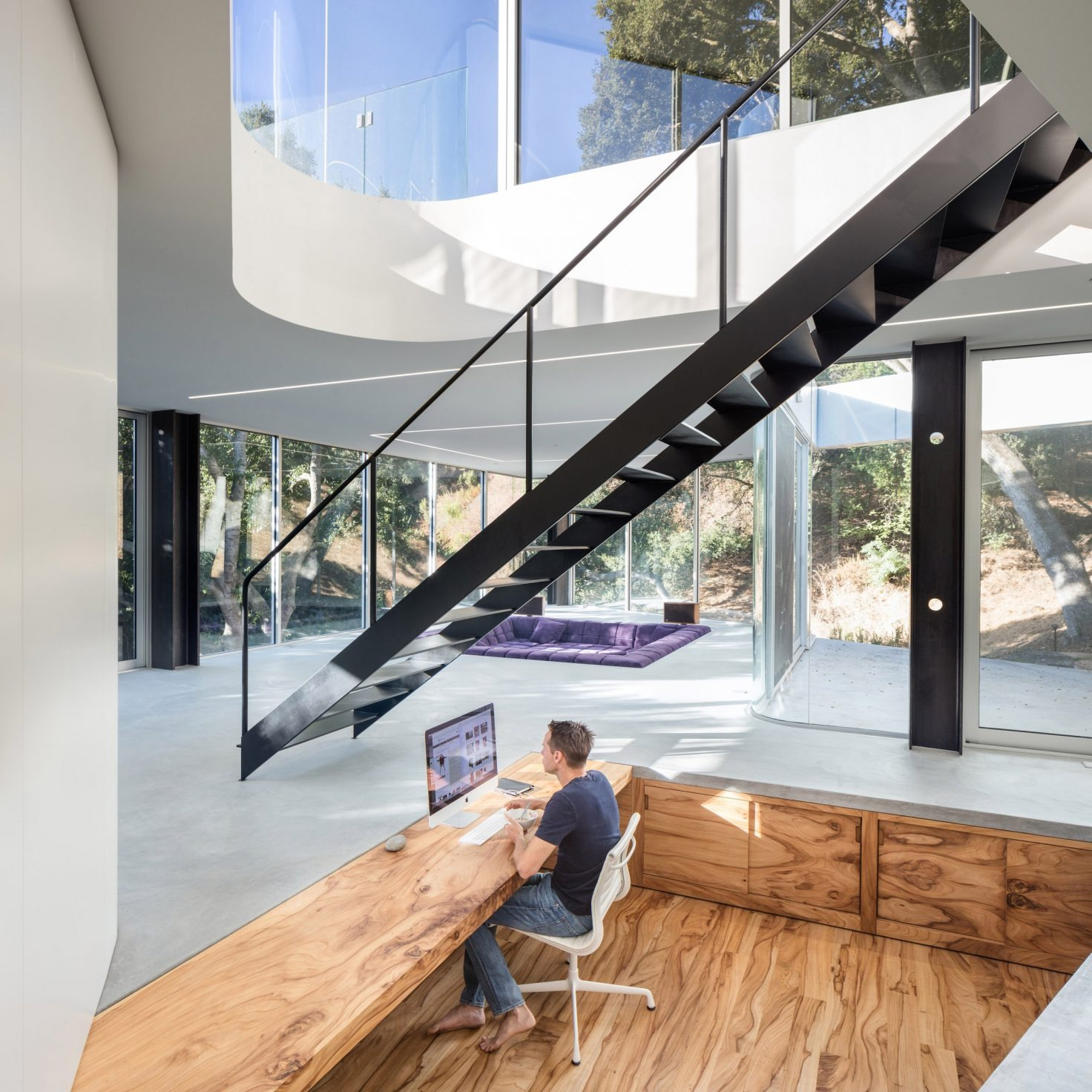 La casa de Pam y Paul en Silicon Valley (EEUU) / Craig Steely Architecture