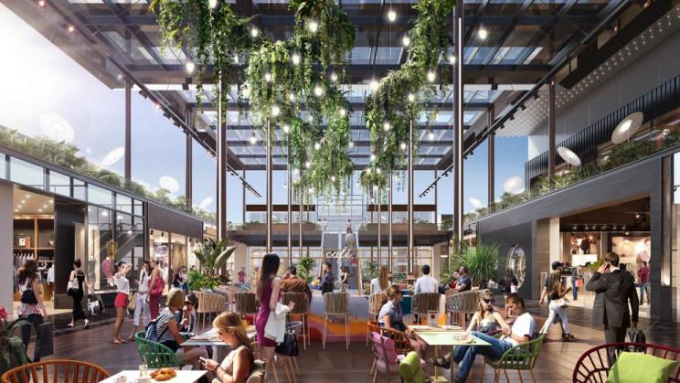 Imagen del interior del centro comercial La Maquinista / La Maquinista