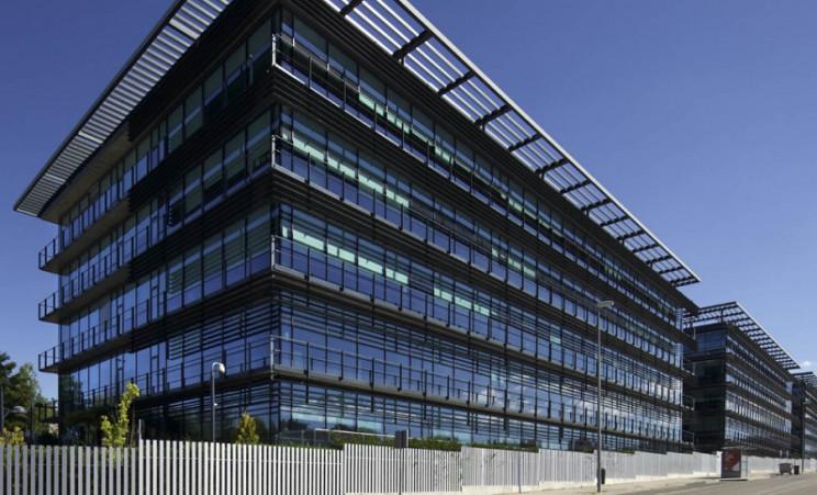 Edificio de oficinas propiedad de Merlin Properties / Merlin Properties