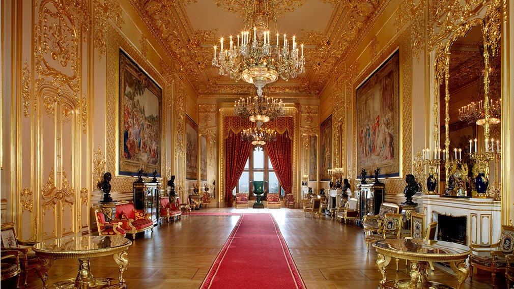 Una de las zonas que usa la actual familia real británica