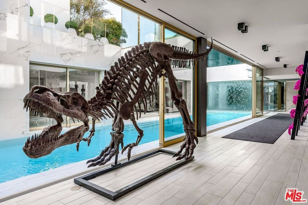 Detalle del dinosaurio / Realtor