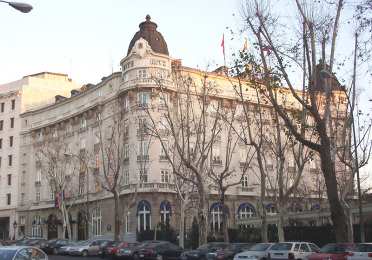 Hotel Ritz / Wikimedia commons