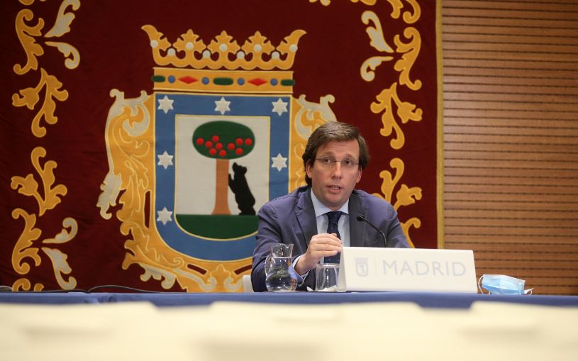 José Luis Martínez-Almeida, alcalde de Madrid / Ayuntamiento de Madrid