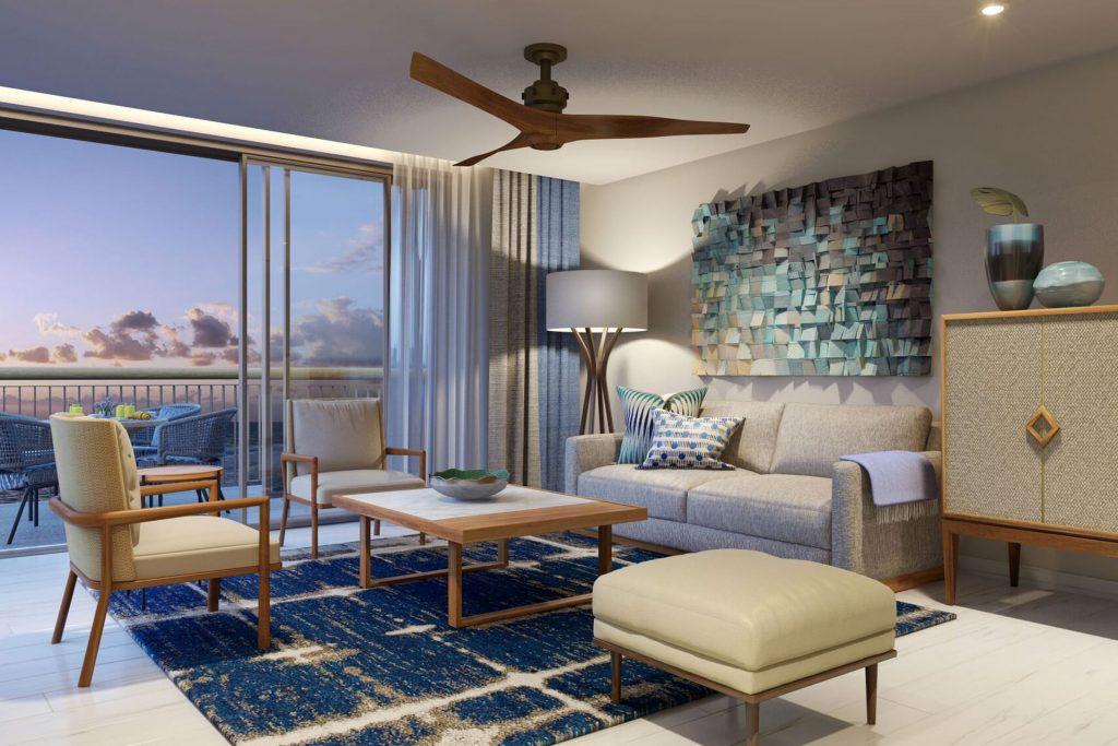 Sala de estar / Conrad Punta de Mita