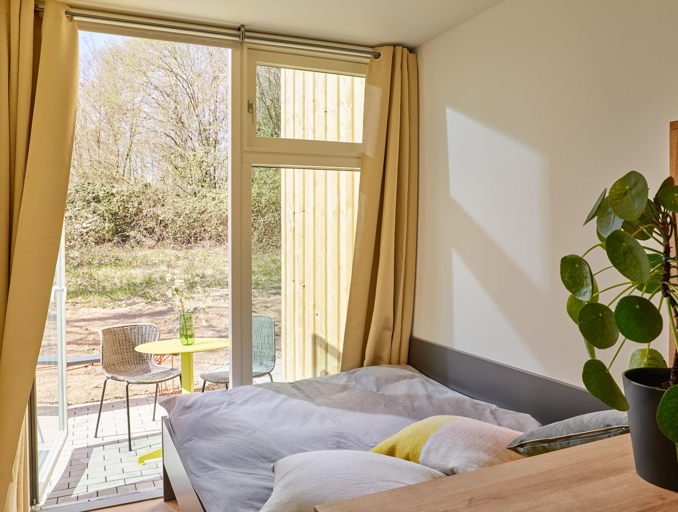 Dormitorio y terraza / Stefan Hohloch