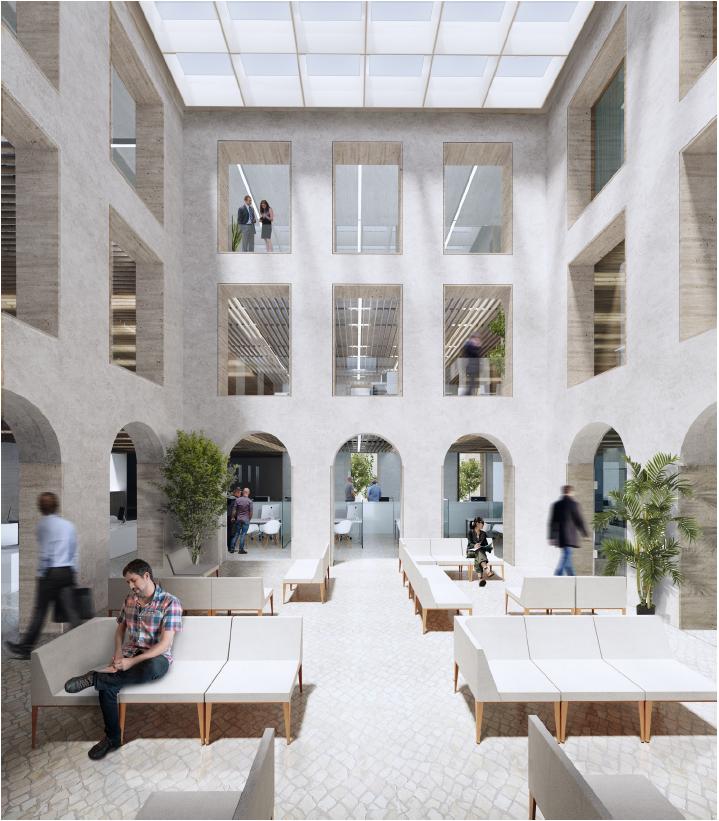 El proyecto conserva las trazas arquitectónicas