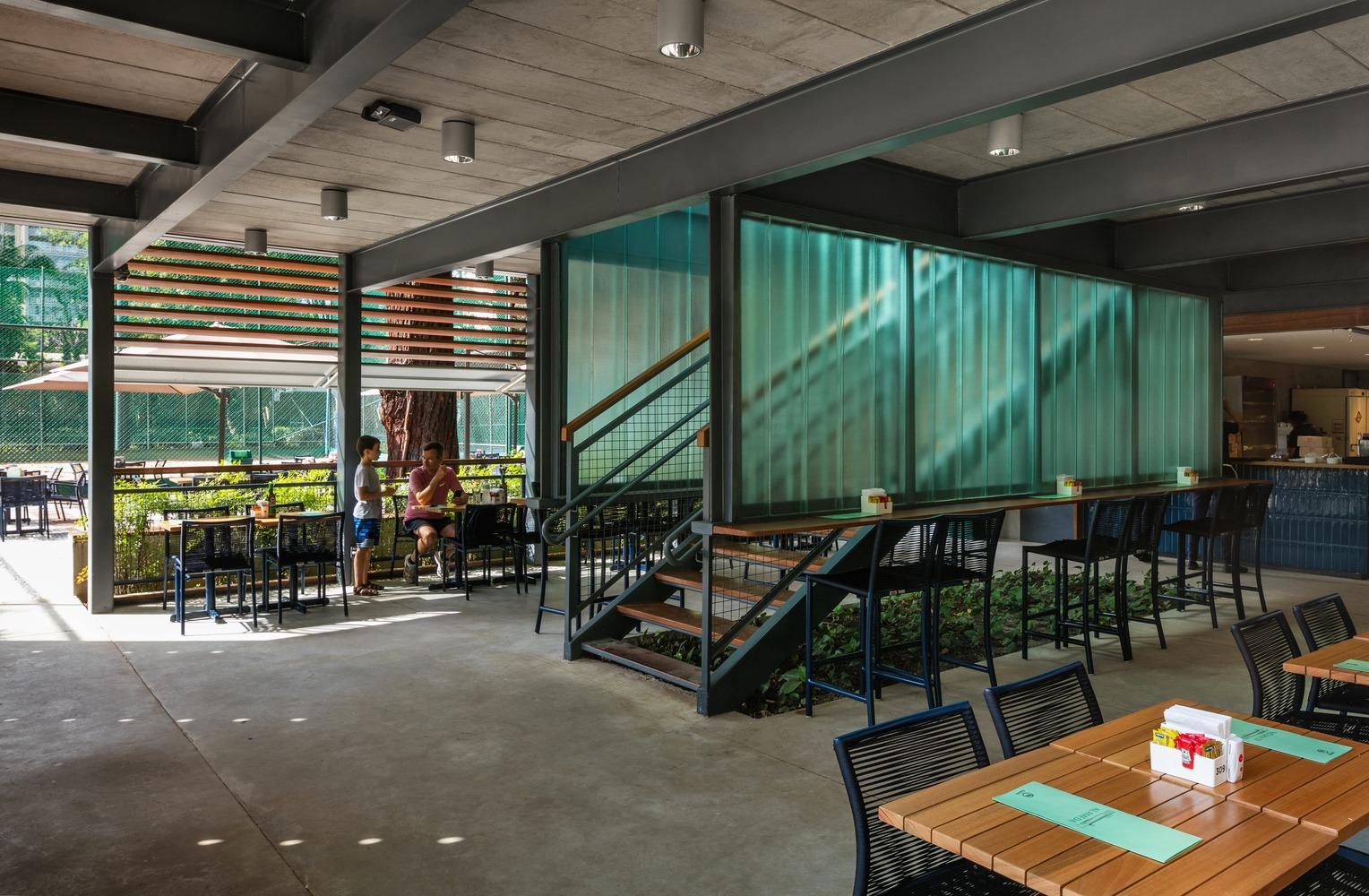 Restaurante Alameda – Esporte Clube Pinheiros / Biselli Katchborian Arquitetos + Zanatta Figueiredo / Nelson Kon