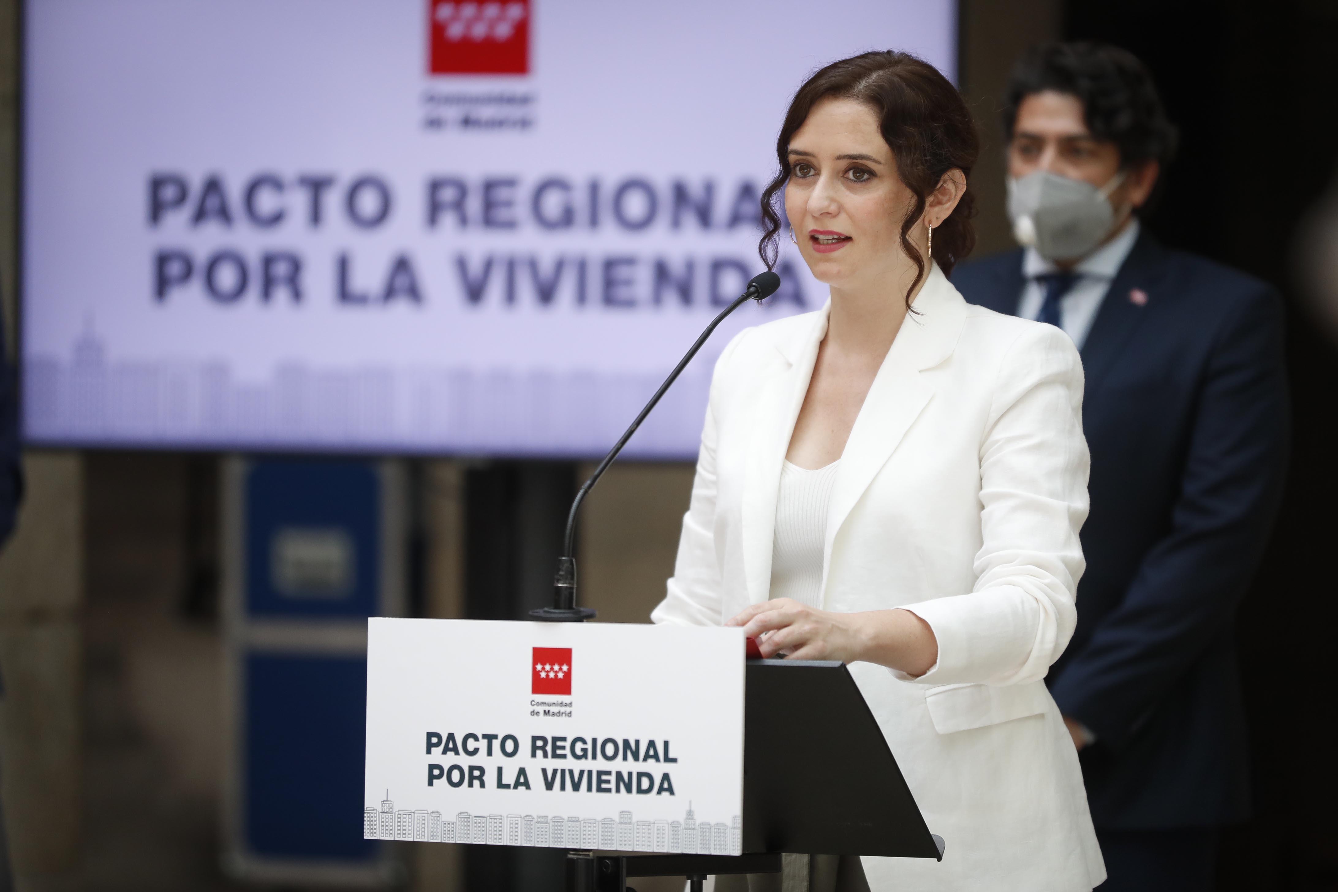 Isabel Díaz Ayuso, presidenta de la Comunidad de Madrid