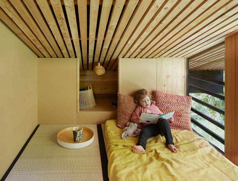 Zona de ocio/dormitorio / Jérémie Léon