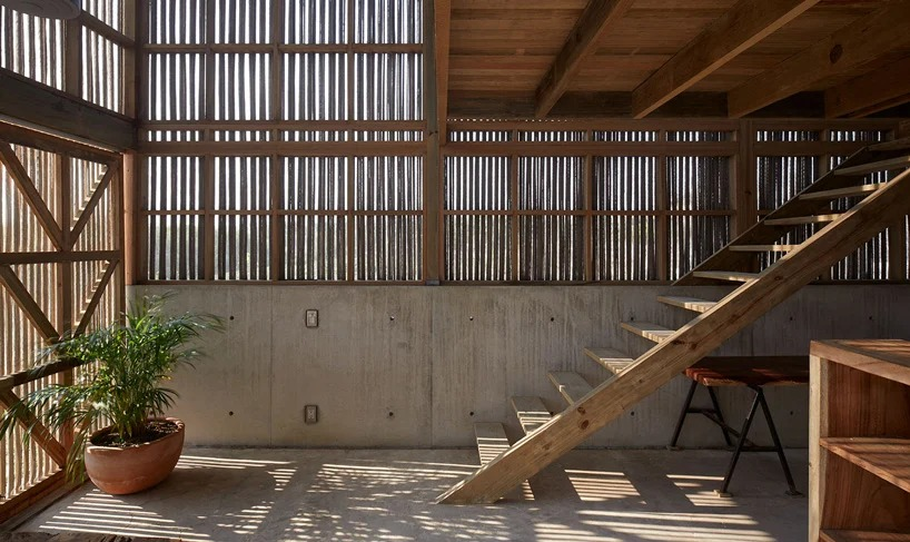 Escaleras de madera / Edmund Sumner/BAAQ