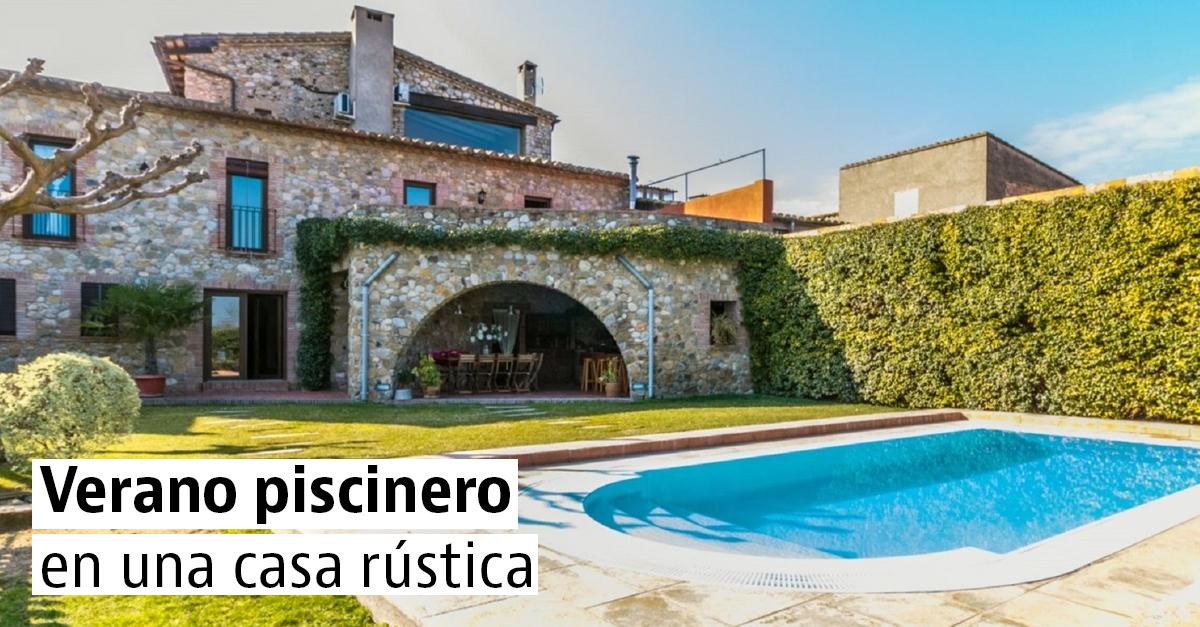 12 casas rústicas co12 casas rúsn12 casas rústicas con piscina para refrescarte este verano piscina para refrescarte este verano