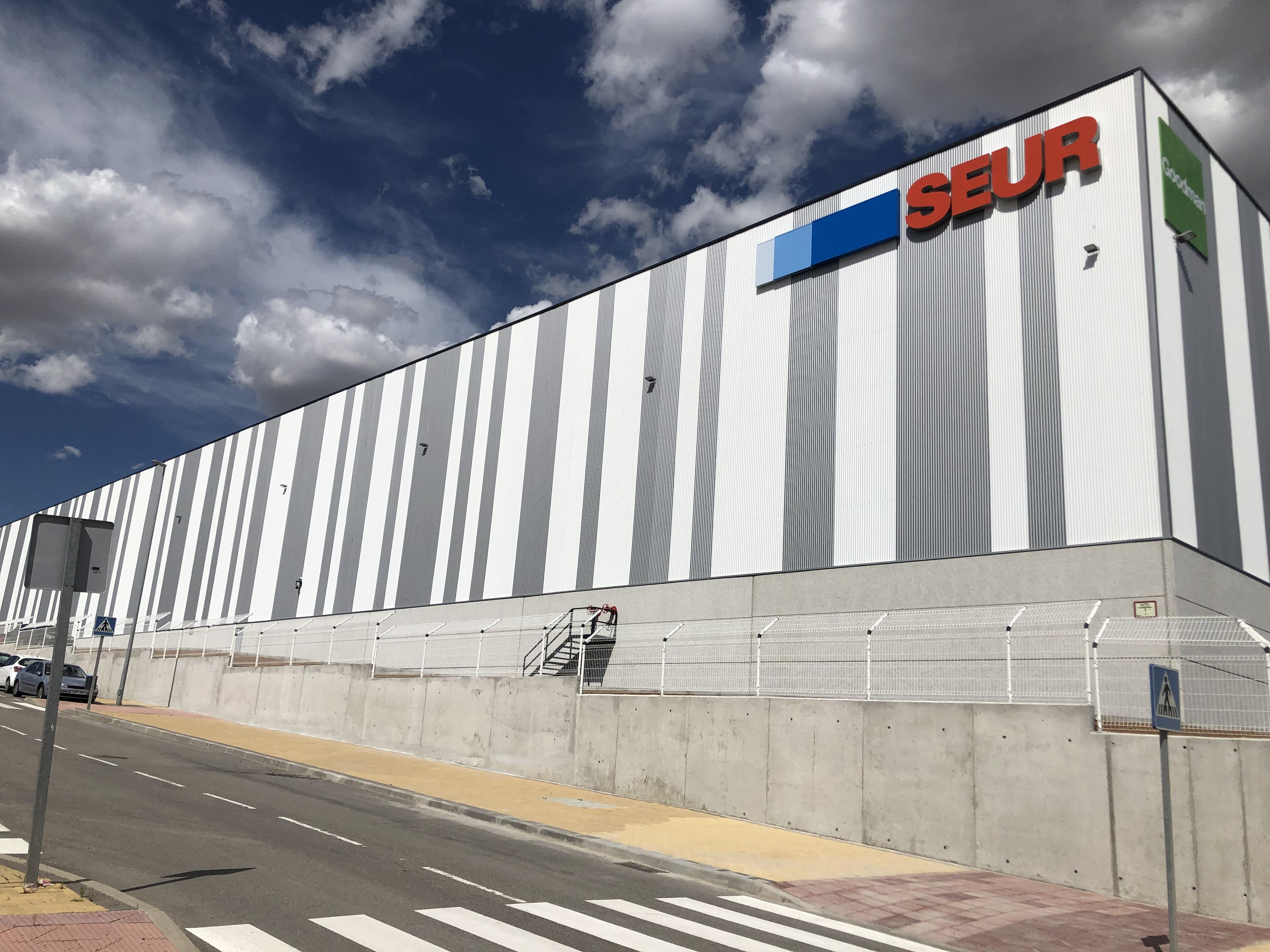 Imagen del nuevo centro logístico de Seur / Seur