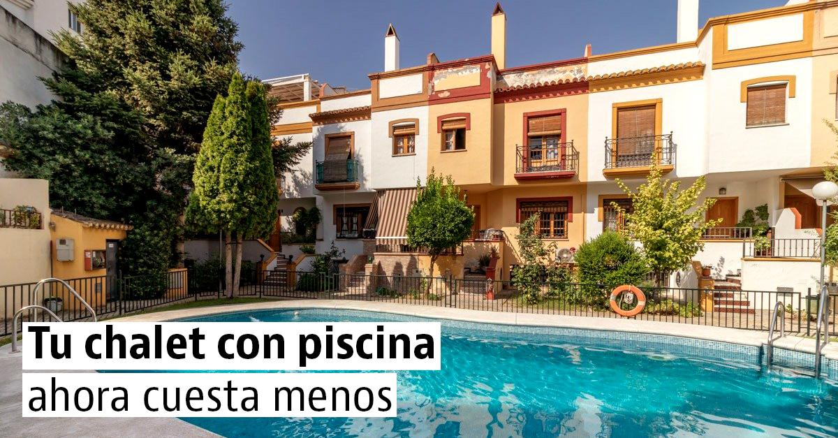 Casas baratas con piscina en venta