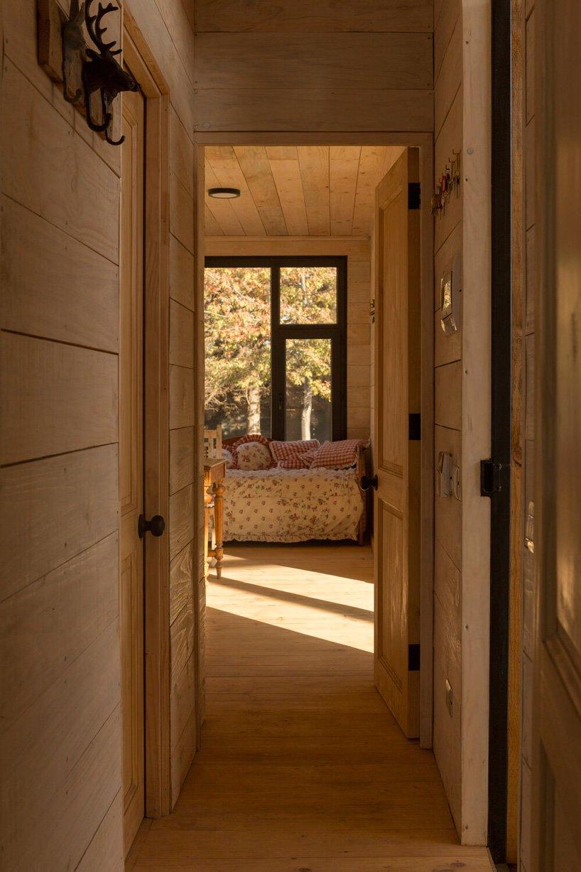 Interior en madera
