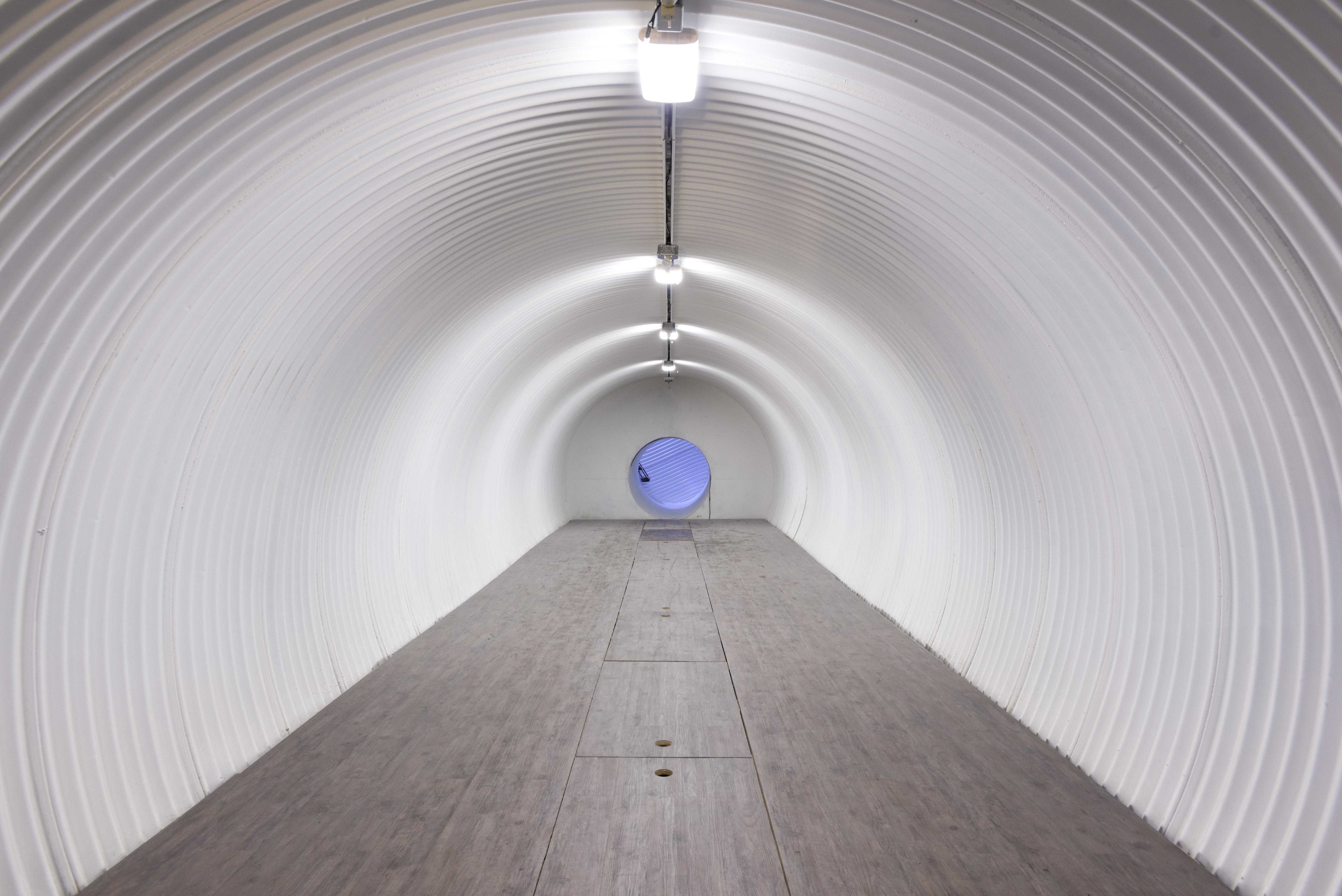 Interior del bunker / Douglas Elliman