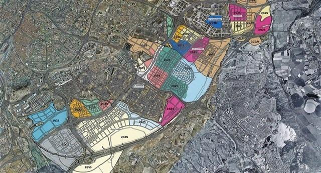 Imagen área de los desarrollos / Desarrollos del sureste