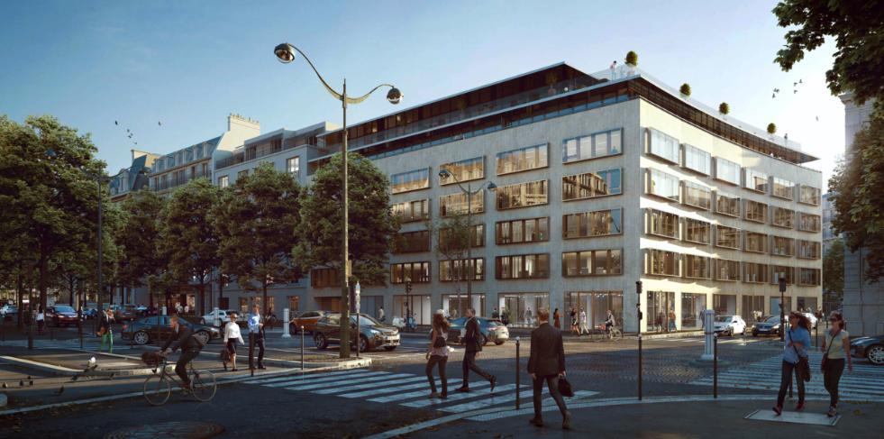 Edificio de Colonial en París