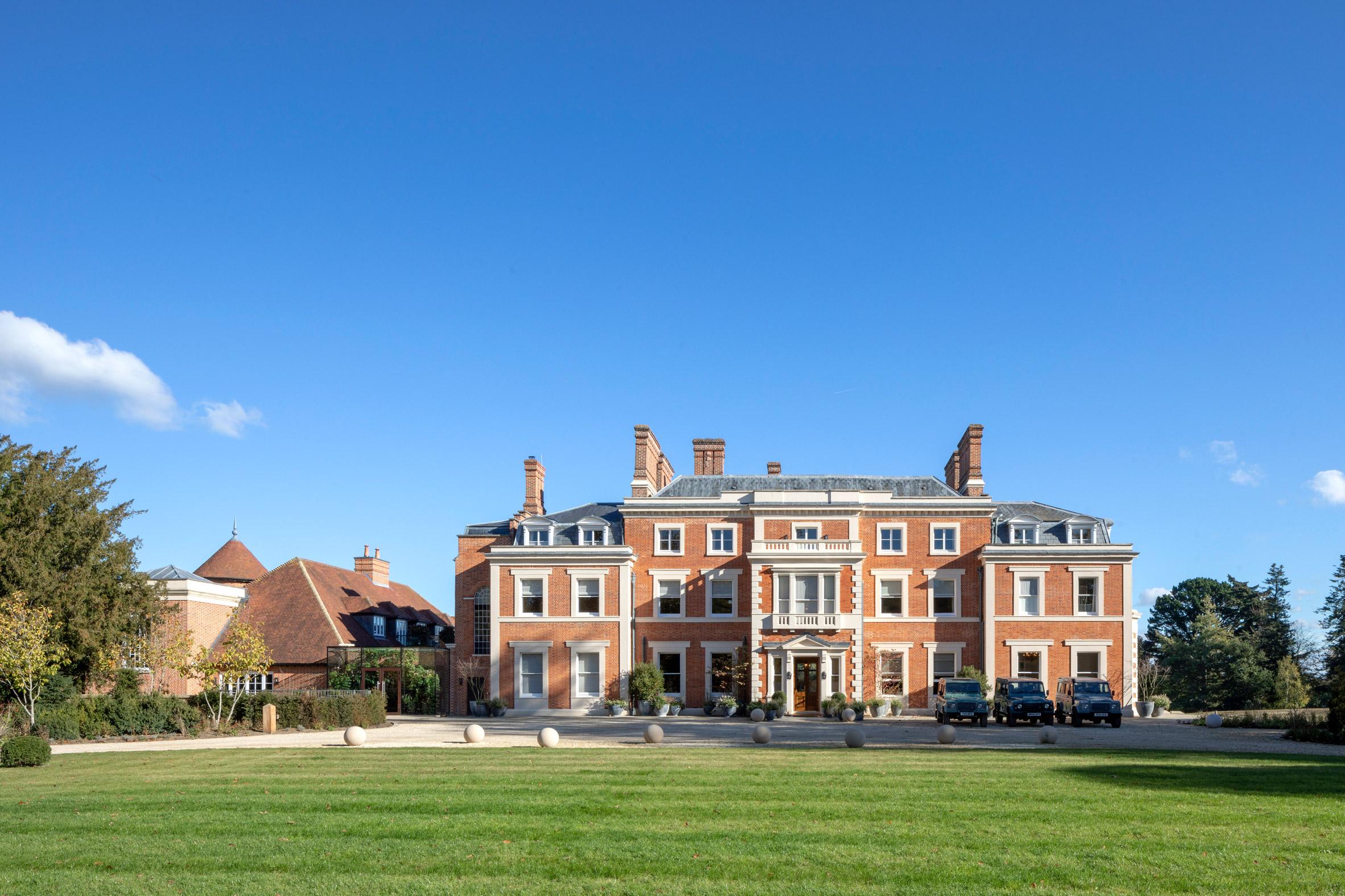 Heckfield Place, en Hampshire (Inglaterra) / Peter Cook