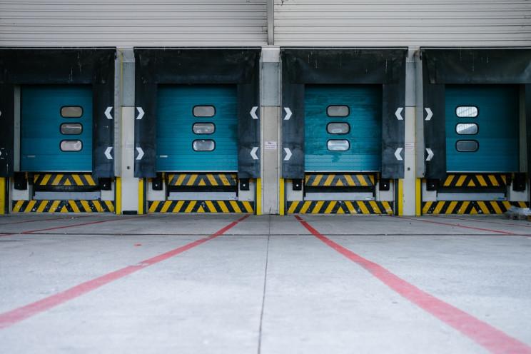 Imagen de una plataforma logística / Merlin