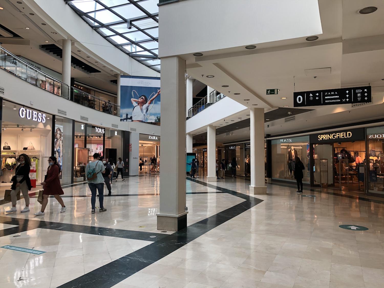Ambiente centro comercial