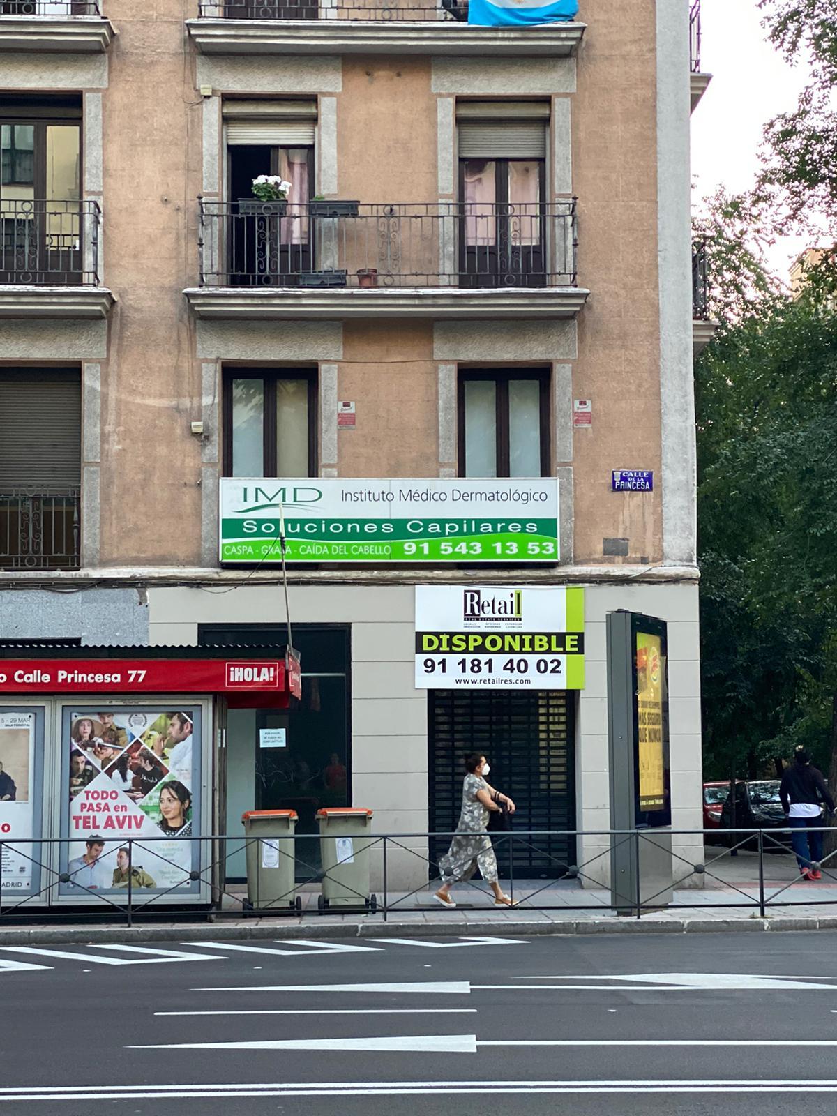 Un local comercial disponible en Princesa.