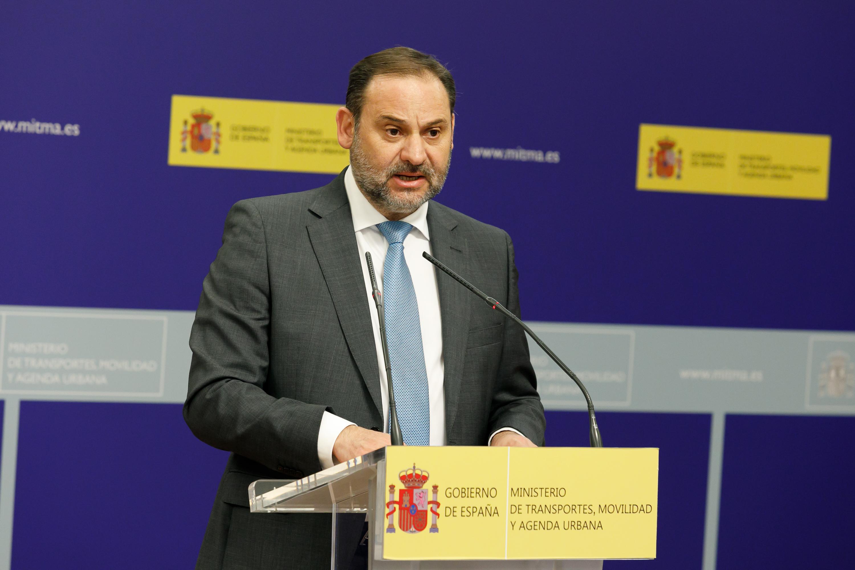 José Luis Ábalos, ministro de Transportes, Movilidad y Agenda Urbana / Mitma