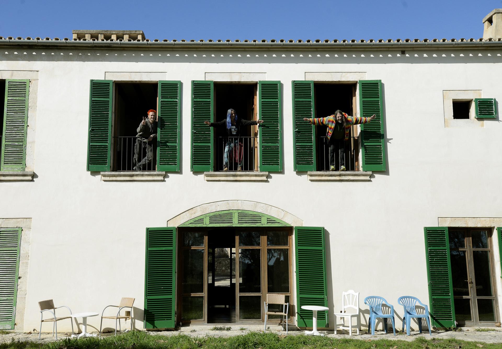 Los okupas que vivieron ilegalmente en la casa de Boris Becker en Mallorca / Gtres