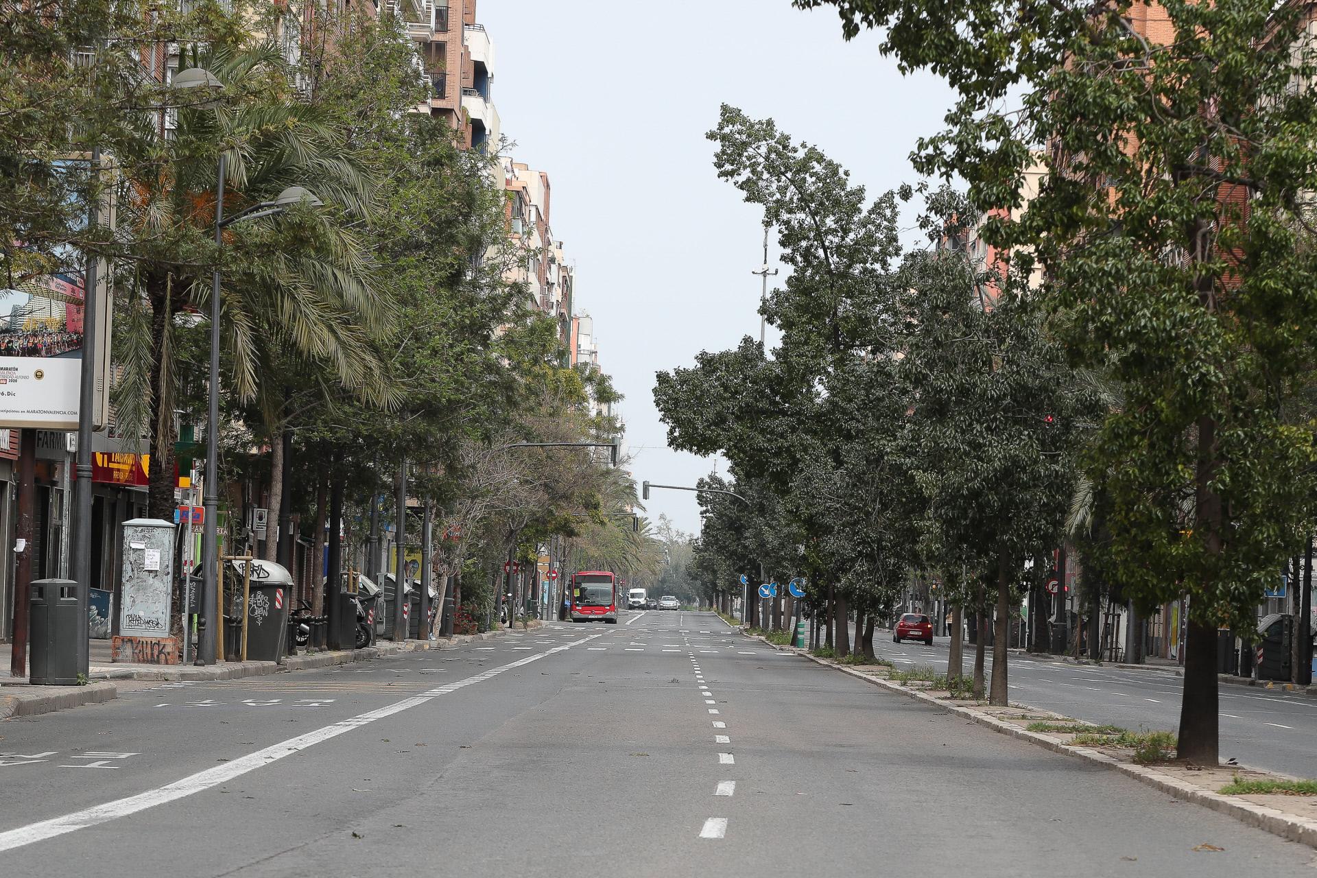 Una calle de Valencia / Gtres