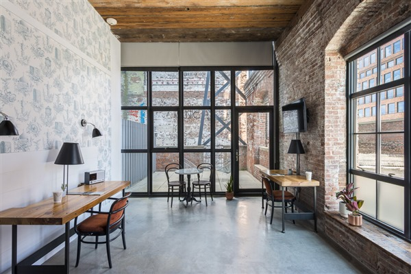 Hotel Whythe, en Williamsburg, Brooklyn