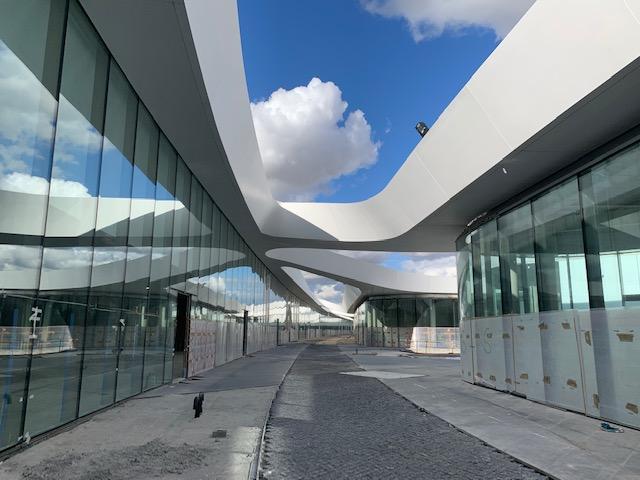 Imagen de las obras en la actualidad / Open Sky