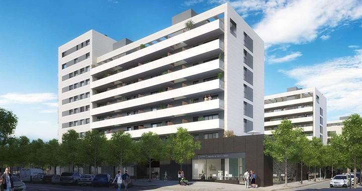 Promoción de viviendas de Aedas en Sabadell / Aedas