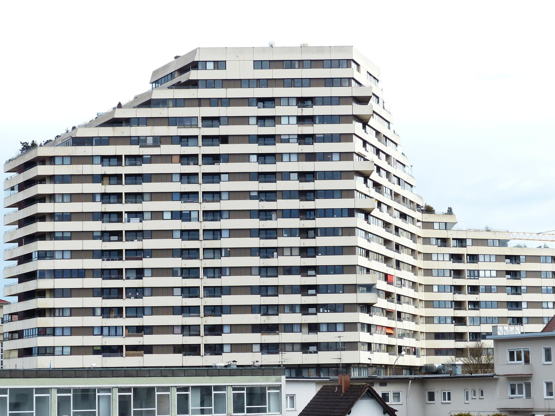 Bloque de viviendas / Pixabay