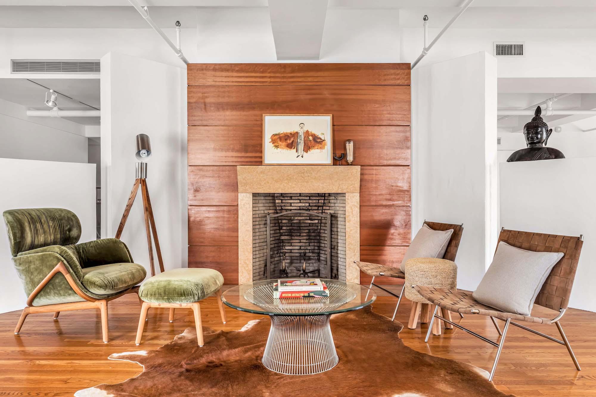 Detalle del salón / Eitan Gamliely for Sotheby's International Realty