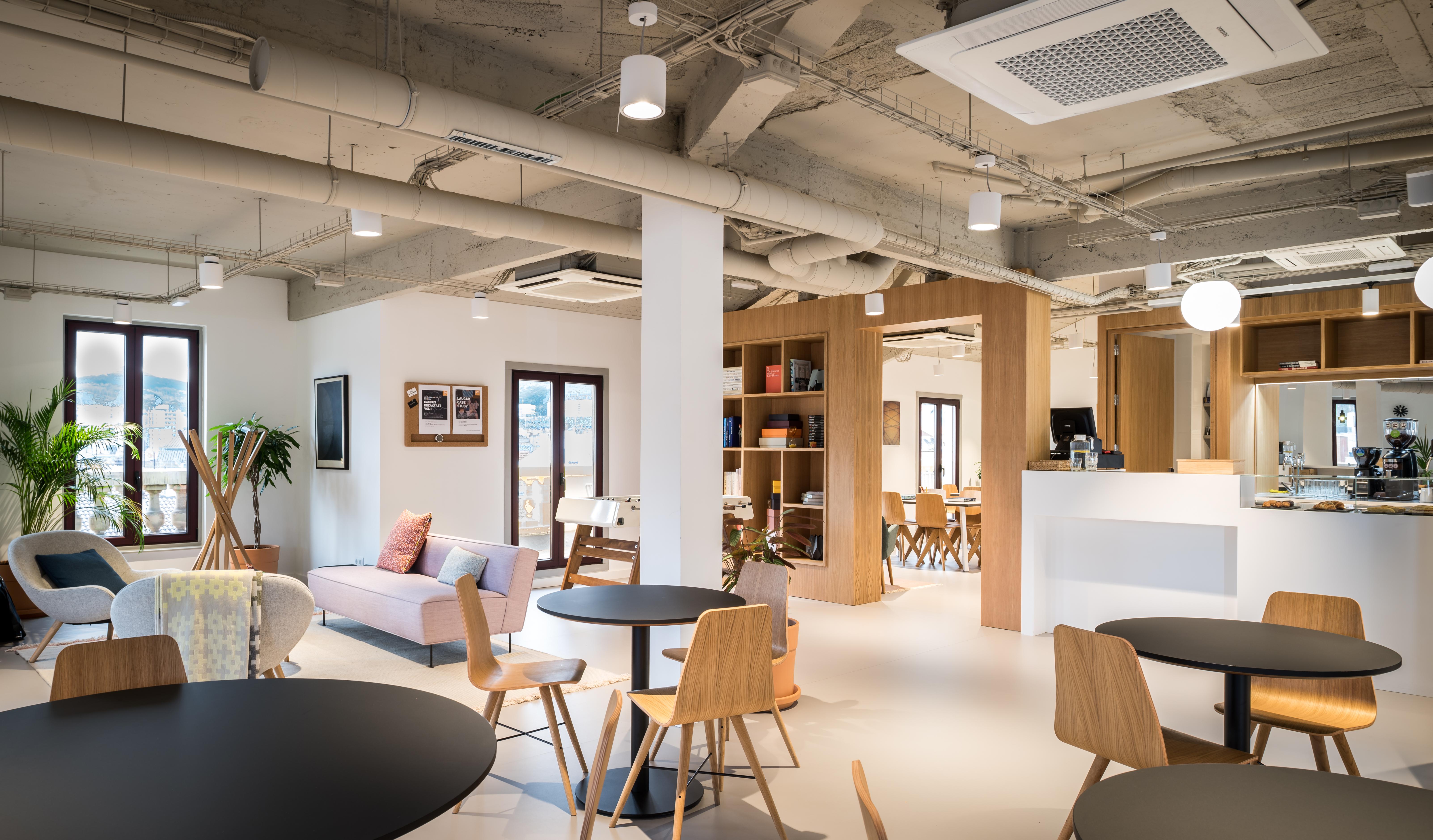Un espacio abierto y de diseño