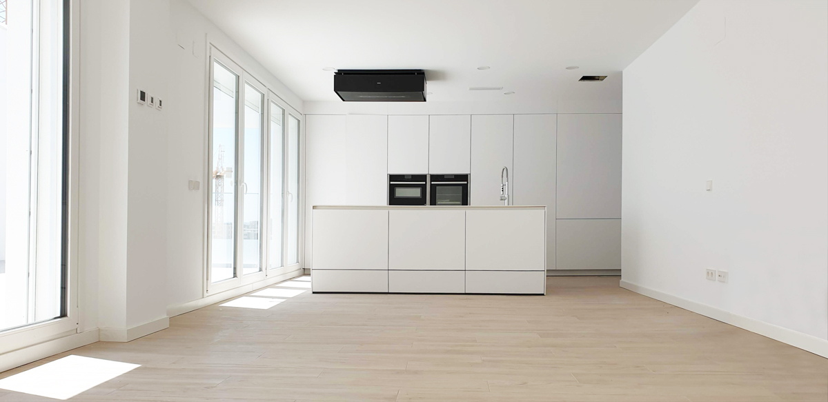 Cocina del ático / DMDV Arquitectos/Landevel ArroyoFresno