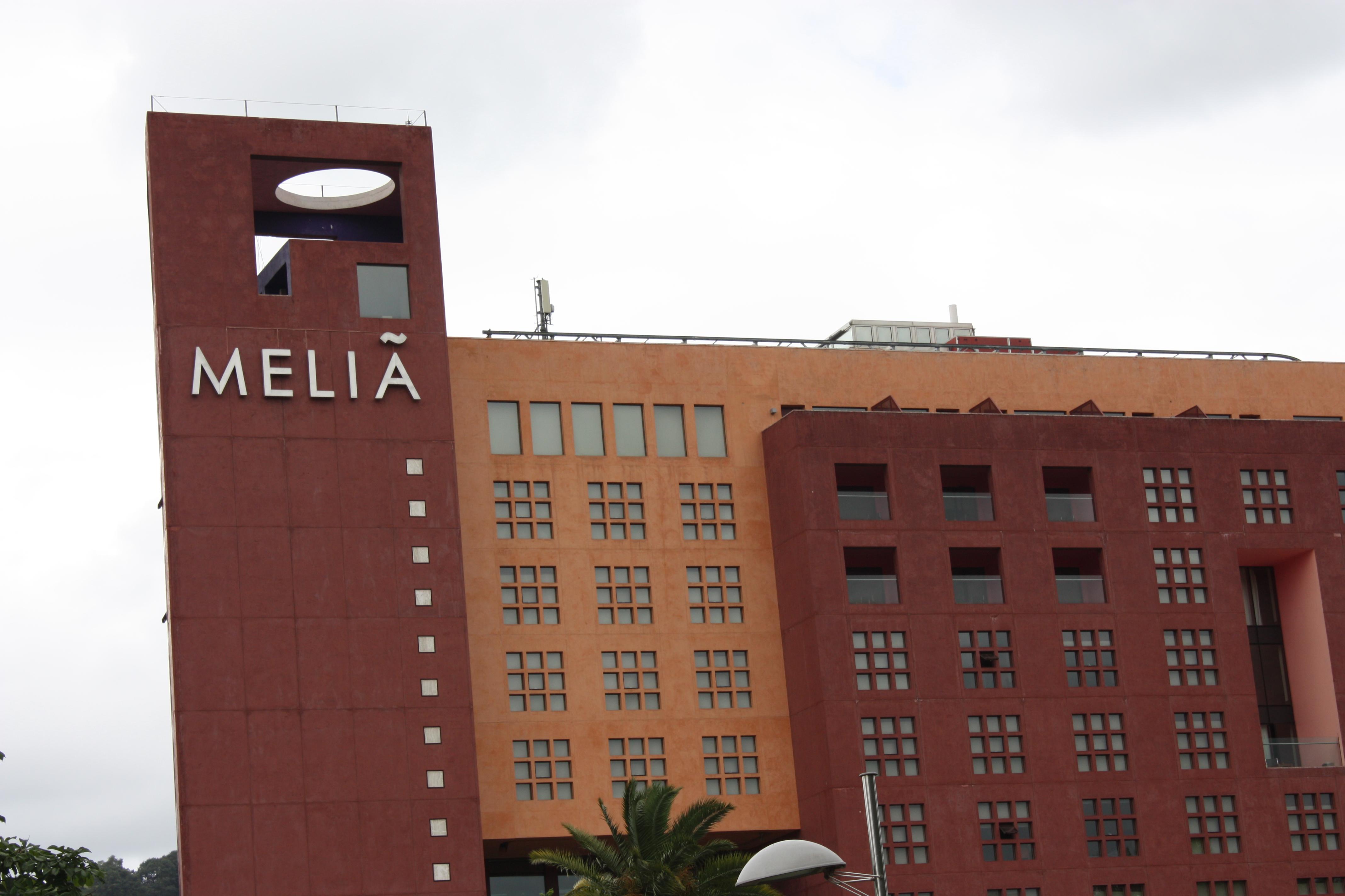 Hotel de la cadena Meliá en Bilbao / Wikimedia commons
