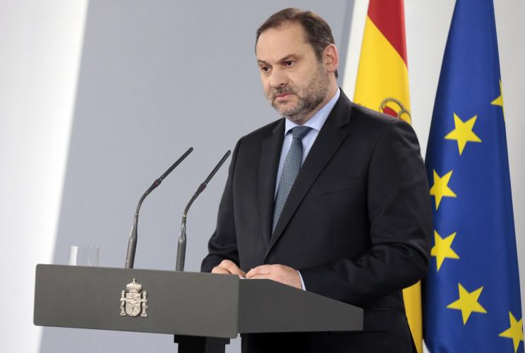 José Luis Ábalos, ministro de Transportes, Movilidad y Agenda Urbana. / La Moncloa