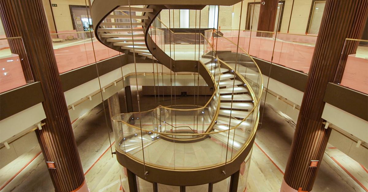 La galería tiene 15.000 m2 de superficie bruta